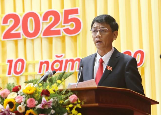 Ông Lâm Văn Mẫn được bầu giữ chức Bí thứ Tỉnh ủy Sóc Trăng nhiệm kỳ 2020 - 2025 /// Ảnh: TRẦN THANH PHONG